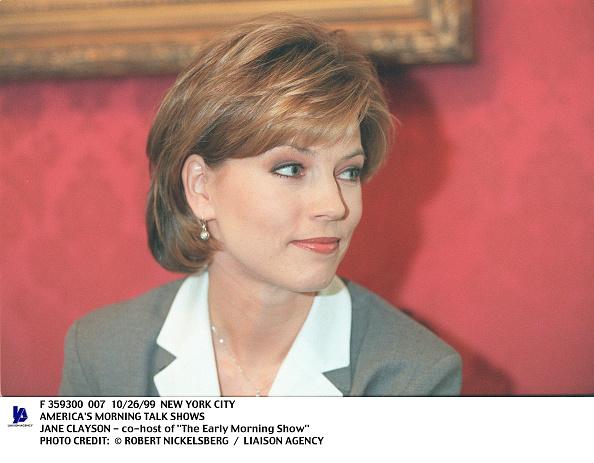 Robert Nickelsberg「America's Morning Talk Shows Jane Clayson Co Host Of The Earl」:写真・画像(9)[壁紙.com]