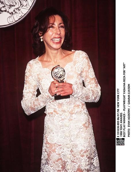 Reza「1998 Tony Awards Best Play Winner Playwright Yasmina Reza」:写真・画像(0)[壁紙.com]