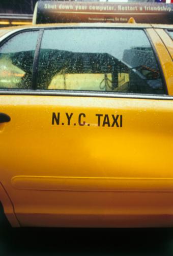 イエローキャブ「New York City Taxicab Door」:スマホ壁紙(8)