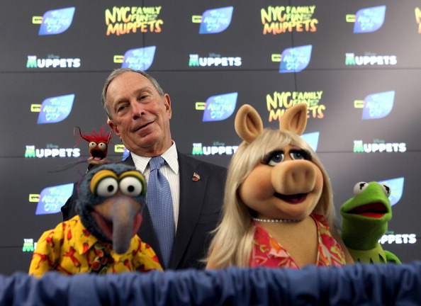 Prawn - Seafood「Mayor Bloomberg Appears With The Muppets In Times Square」:写真・画像(13)[壁紙.com]