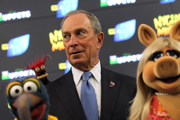 Prawn - Seafood「Mayor Bloomberg Appears With The Muppets In Times Square」:写真・画像(15)[壁紙.com]