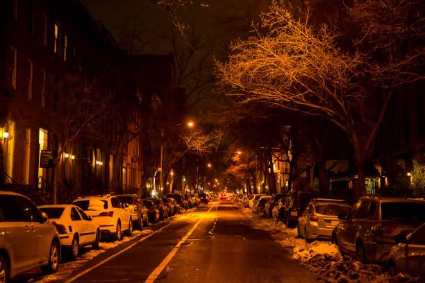 New York City cityscape at night time:スマホ壁紙(壁紙.com)