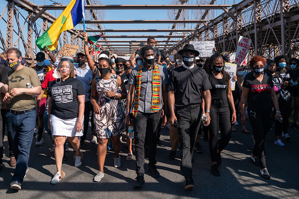 Crowd「Protests Continue Across The Country In Reaction To Death Of George Floyd」:写真・画像(11)[壁紙.com]