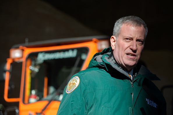 2016 Winter Storm Jonas「New York Mayor De Blasio Briefs On City Preparedness For Coming Snowstorm」:写真・画像(18)[壁紙.com]