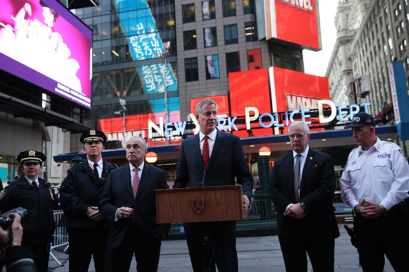 Alertness「Security Around New York City Increased Following Terror Attacks In Belgium」:写真・画像(19)[壁紙.com]