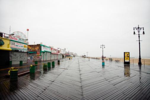 Coney Island - Brooklyn「New York City, Coney Island, street and boardwalk」:スマホ壁紙(15)