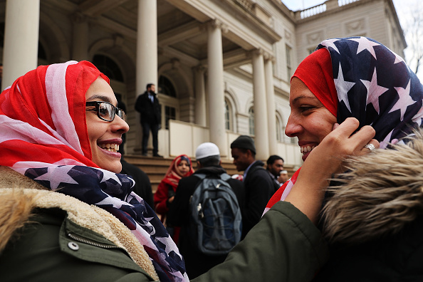 アメリカ合衆国「World Hijab Day Marked In New York City With A Rally At City Hall」:写真・画像(3)[壁紙.com]