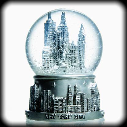 Souvenir「New York City in a Bubble Globe」:スマホ壁紙(0)