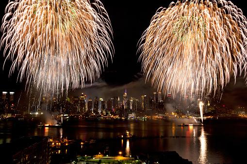 Fourth of July「New York City Syncronized Fireworks」:スマホ壁紙(19)