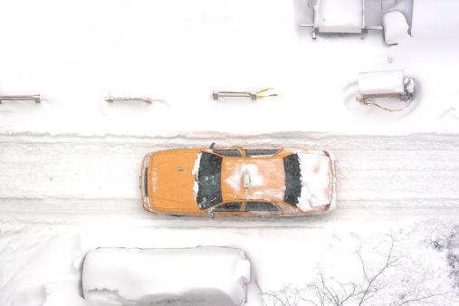 交通量「ニューヨークシティータクシーでブリザード、空から見たゴルフ練習場」:スマホ壁紙(6)