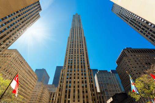 Pole「New York City - Rockefeller Building」:スマホ壁紙(3)
