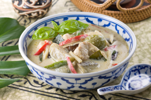 Green Curry「Gaeng Kiow Wahn」:スマホ壁紙(3)