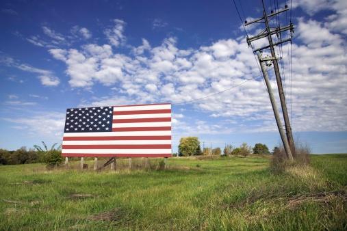 Missouri「American flag billboard」:スマホ壁紙(19)