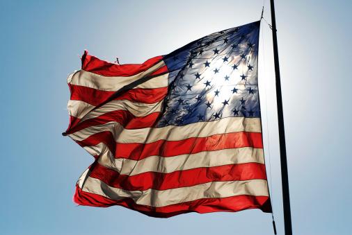 Fourth of July「American Flag」:スマホ壁紙(11)
