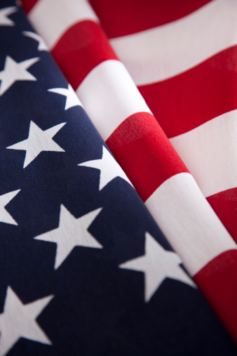 Patriotism「American Flag Close-Up」:スマホ壁紙(14)
