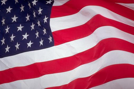 1990-1999「American Flag Waving」:スマホ壁紙(13)