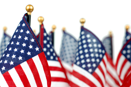 Patriotism「American Flags」:スマホ壁紙(13)