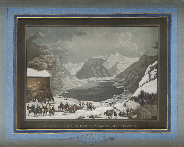 Switzerland「Napoleon Passing The Great St Bernard Pass.」:写真・画像(17)[壁紙.com]