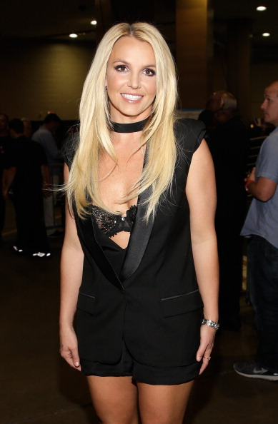 Britney Spears「iHeartRadio Music Festival - Day 2 - Backstage」:写真・画像(5)[壁紙.com]