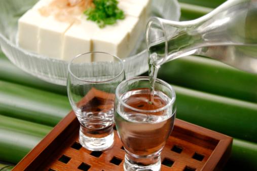 Sake「Cold sake and tofu」:スマホ壁紙(2)