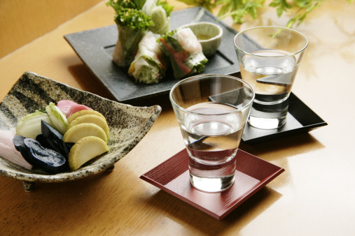 Sake「Cold sake and appetizer」:スマホ壁紙(7)