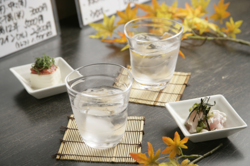 Sake「Cold sake and appetizer」:スマホ壁紙(9)