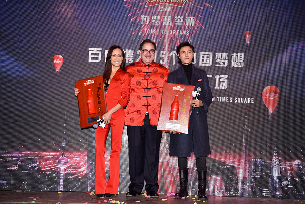 Missouri「Actress Maggie Q Kicks-Off Chinese New Year At Budweiser's Toast To Dreams Event In Times Square」:写真・画像(10)[壁紙.com]