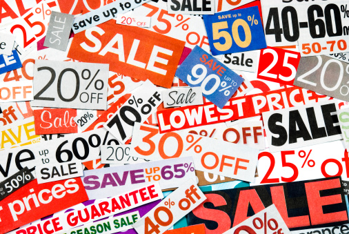 Coupon「Sale signs, newspaper and flyers clippings - XX」:スマホ壁紙(9)