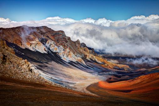 Haleakala National Park「Sliding Sands Trail, Haleakala National Park」:スマホ壁紙(8)
