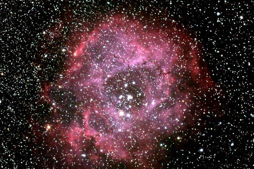 Hydrogen「Rosette Nebula」:スマホ壁紙(8)