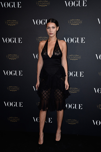 Black Color「Vogue 95th Anniversary Party Arrivals - Paris Fashion Week Womenswear Spring/Summer 2016」:写真・画像(18)[壁紙.com]