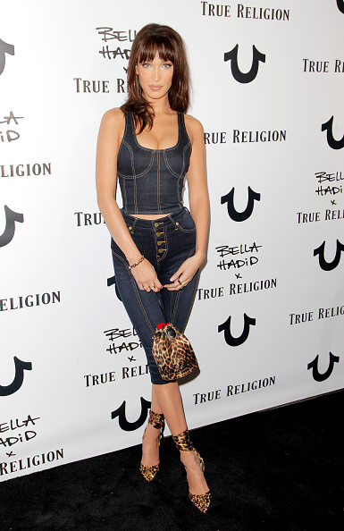 Leopard Print「Bella Hadid x True Religion Event - Arrivals」:写真・画像(6)[壁紙.com]