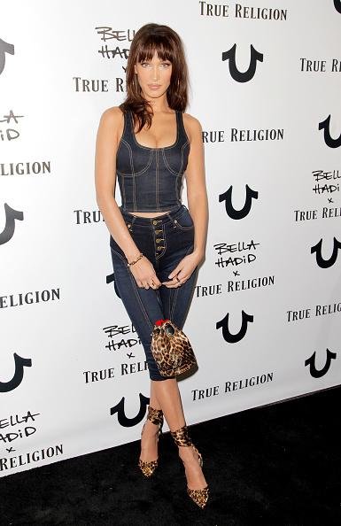 Leopard Print「Bella Hadid x True Religion Event - Arrivals」:写真・画像(17)[壁紙.com]