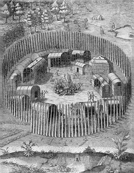 Colony - Group of Animals「American aboriginal Indian village in Virginia」:写真・画像(1)[壁紙.com]