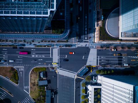 Marunouchi「The crossing way of Marunouchi in Tokyo」:スマホ壁紙(14)