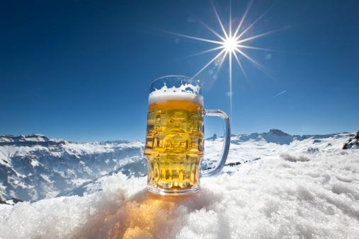 雪「新鮮なビールスタンド型の雪」:スマホ壁紙(8)
