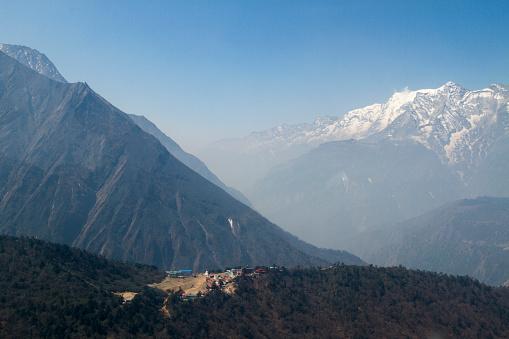 Khumbu Glacier「Flight over Tengboche Monastery」:スマホ壁紙(8)