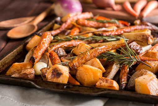Roasted「Roasted Root Vegetables」:スマホ壁紙(2)