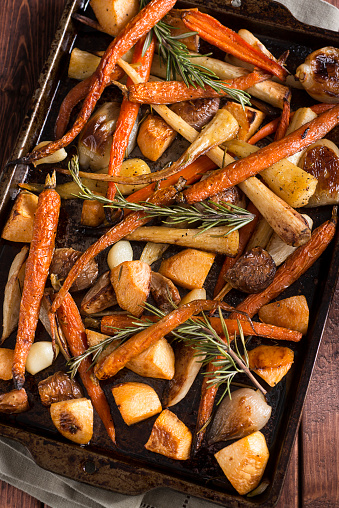 Carrot「Roasted Root Vegetables」:スマホ壁紙(8)