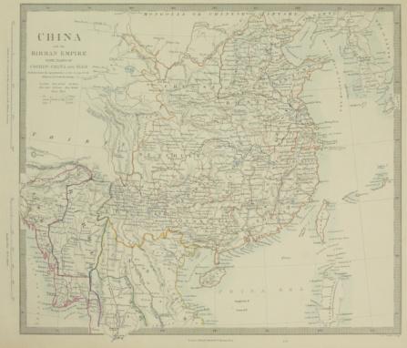 Latitude「Map of East Asia」:スマホ壁紙(1)