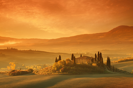 Tuscany「Farm in Tuscany」:スマホ壁紙(19)