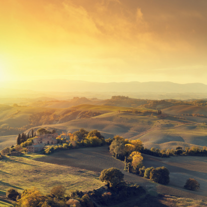 Grove「Farm in Tuscany」:スマホ壁紙(0)
