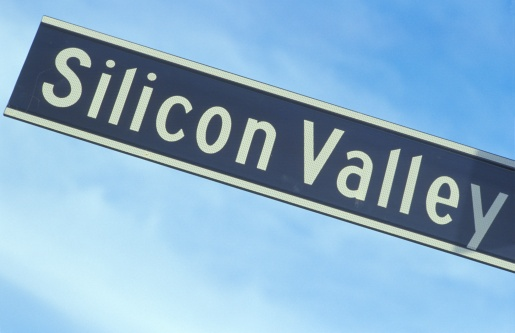 Silicon「A sign that reads ?Silicon Valley?」:スマホ壁紙(9)