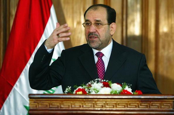 Baghdad「Prime Minister al-Maliki Holds News Conference」:写真・画像(18)[壁紙.com]
