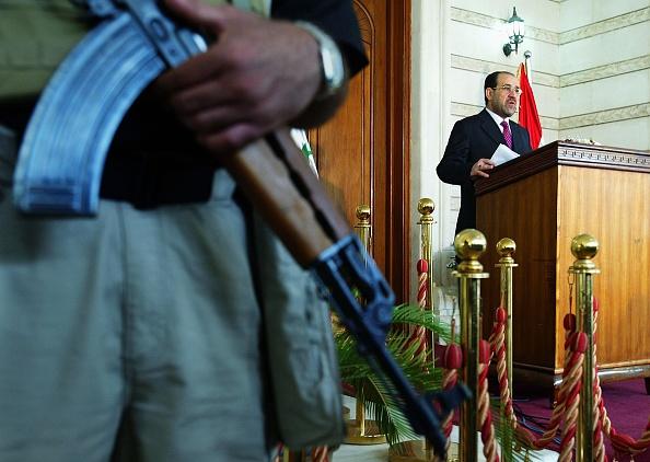 Baghdad「Prime Minister al-Maliki Holds News Conference」:写真・画像(19)[壁紙.com]