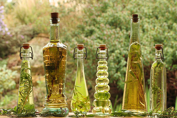 herb oils and vinegars:スマホ壁紙(壁紙.com)