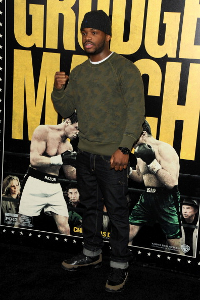 """Boxer Eddie Gomez「""""Grudge Match"""" Screening Benefiting The Tribeca Film Insititute - Outside Arrivals」:写真・画像(5)[壁紙.com]"""