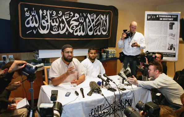Preacher「Al-Muhaajiroun Hold Press Conference To Mark Third Anniversary Of 9/11」:写真・画像(4)[壁紙.com]