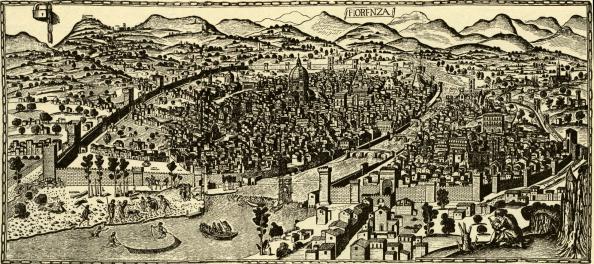 Panoramic「Florence circa 1490」:写真・画像(12)[壁紙.com]