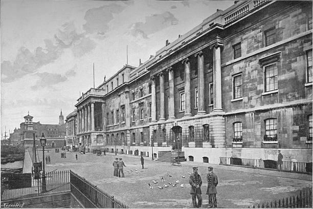 Custom House, City of London, 1911:ニュース(壁紙.com)
